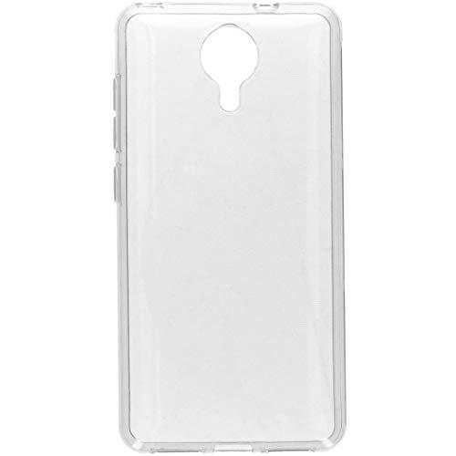 Accezz General Mobile 4G,General Mobile GM5 Hülle Silikon Transparent – Handyhülle Durchsichtig – Silikonhülle Clear Case Schutzhülle Cover Dünn Kratzfest rutschfest