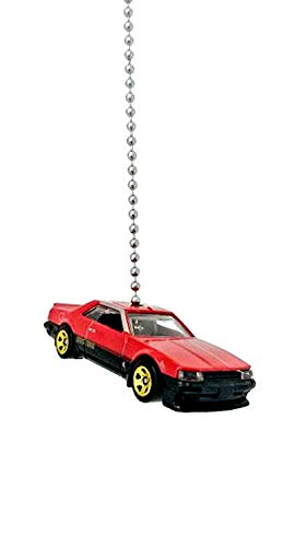 Diecast Nissan Car Truck Ceiling Fan Light Pull Chain Ornaments (1982 Nissan Skyline R30 Red Black 170)