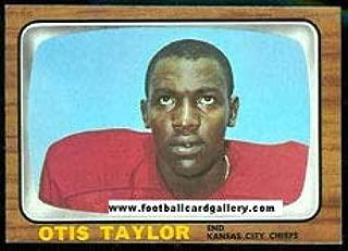 1966 Topps Regular (Football) card#75 Otis Taylor of the Kansas City Chiefs Grade very good/excellent