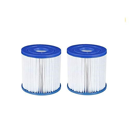 XUNGENG Filtro piscina tipo I, para Bestway 58093 Filtro de cartucho, repuesto para filtro de spa, filtro de cartucho, accesorios para la limpieza de la piscina (2 unidades)