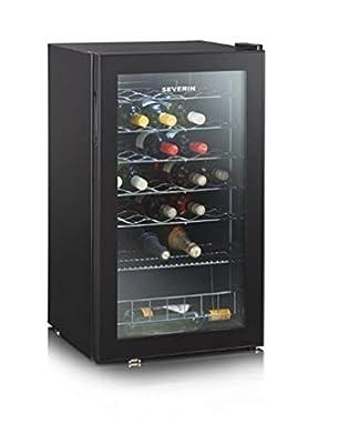 Severin KS 9894 - wine coolers (Undercounter, Black, 7 - 18 °C, SN, No, A, Black) by Severin