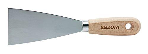 Bellota 5890-80 Espátula de Acero al Carbono Mango Madera, 80 mm
