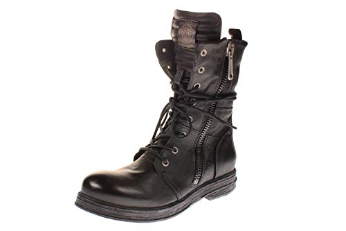 Replay Damen EVY Biker Boots, Schwarz (BLACK 3), 39 EU
