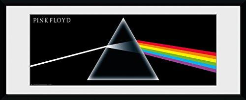 GB Eye LTD, Pink Floyd, Dark Side of The Moon, Fotografía enmarcada 30x75 cm