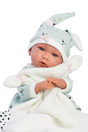 Llorens 74054 Mimi - Muñeco de bebé (42 cm), Color Beige