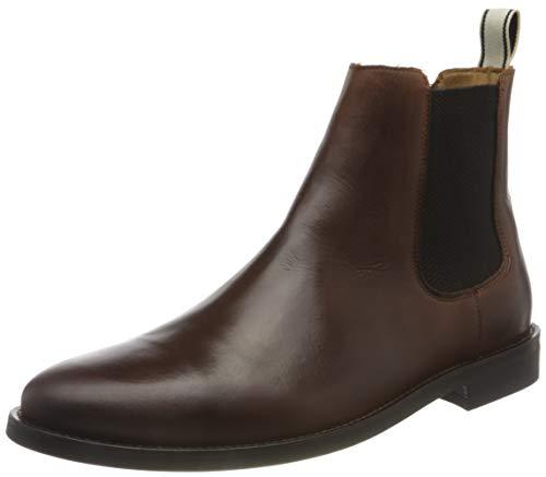 GANT FOOTWEAR Herren SHARPVILLE Chelsea-Stiefel, Cognac, 46 EU