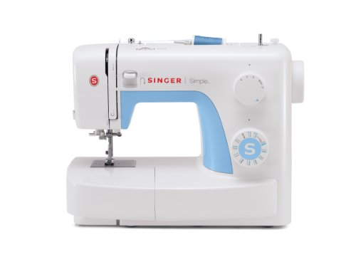 Singer 3221 Simple Sewing Machine with Automatic Needle Threader, 21 Stitches