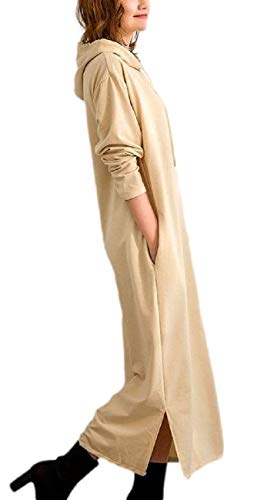[1/2style(ニブンノイチスタイル)] 韓国 パジャマ 秋冬 つややか きれいめ 綺麗め 綺麗目 キレイメ ワンピース わんぴーす 可愛い カワイイ かわいい おおきい オオキイ ゆったり ユッタリ オンナ 桃 柔軟剤 辞書 服 ジャージ インナー 女性 女 おんな インナ キャップ 長袖 半袖 七分袖 ノースリーブ チュニック ドレス ティーシャツ ティシャツ 秋物 (オフホワイト, m)
