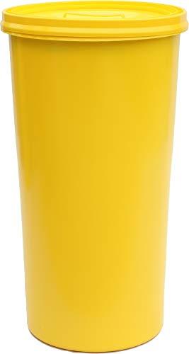 Will-Jeder Müllsackständer für gelbe Säcke - Diverse Farben (gelb/gelb)