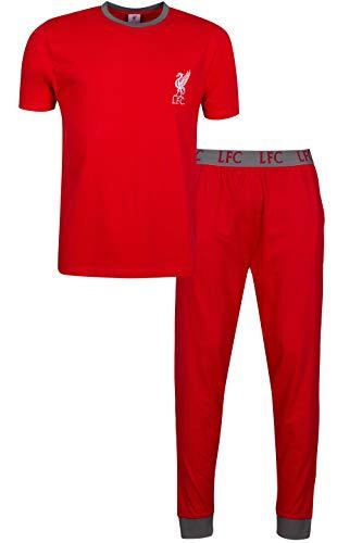 Liverpool Liverpool - Pijama de fútbol para Hombre (algodó