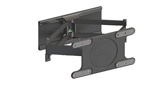 Meliconi OLED SDRP - Supporto Doppio Braccio e Doppia Rotazione, per TV OLED fino a VESA 400x200, Orientabile Orizzontalmente e Verticalmente, Portata Max 35 kg, Dimensioni TV 40 -82