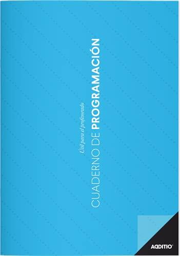 Adittio P202 - Agenda de Programación, Surtido: Colores Aleatorios, Cuadernos para el profesorado A4