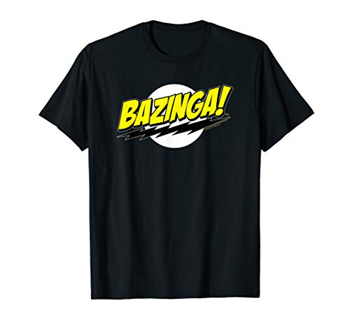 The Big Bang Theory Sheldon Bazinga T-Shirt