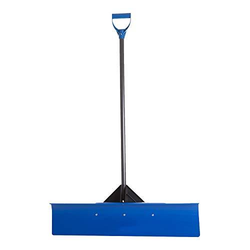 The Snowcaster 36UPH Snow Shovel, 36-Inch, Blue
