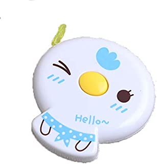 60 inches Tape Measure for Body Measurements Cute Blue Chick Shape Retractable Dual Sided Inch and Centimeter for Sewing T...