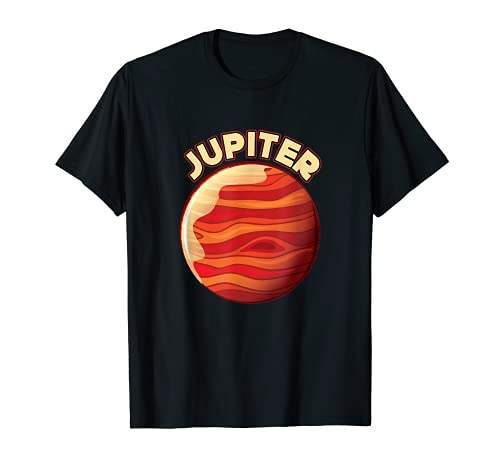 Astronomie Fächer Galaxie Planet Weltraum Jupiter Explorer T-Shirt