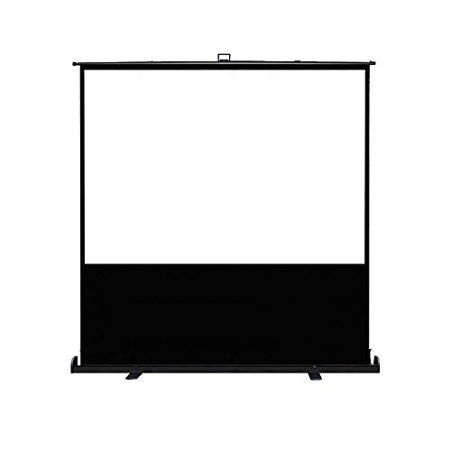 Aufun Projektor Leinwand, Beamer Leinwand, Rolloleinwand Höhenverstellbar Nutzfläche - Format 16:9 für Heimkino, Büro, Präsentationen, Schulen, Events (70 Zoll)
