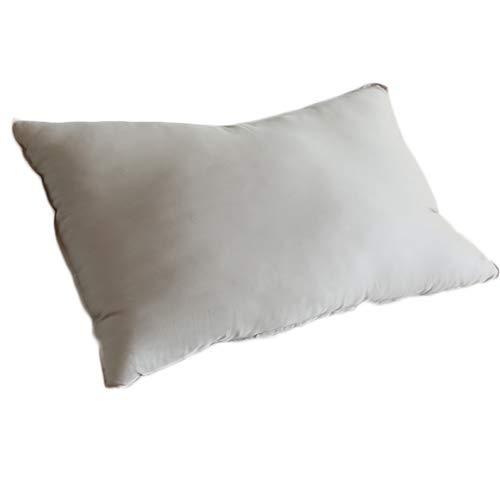 Rekaf Almohada del Hotel con Fibra Tencel Tela Fibra Ultra-Fina cómoda y Transpirable Sedosa no deformación, amigable con la Piel Suave (48 * 74 cm) (Color : Rosado)