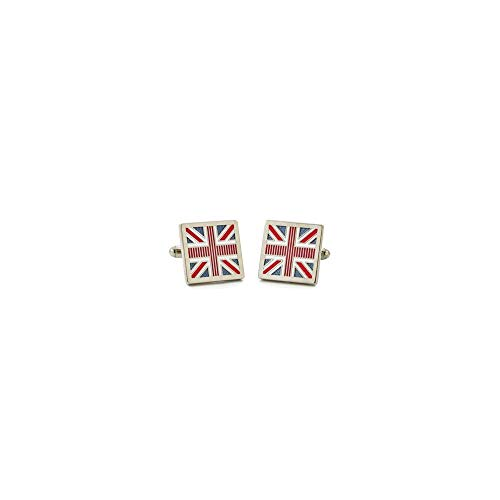 Sonia Spencer - Boutons De Manchette, Blue Union Jack, GB Collection