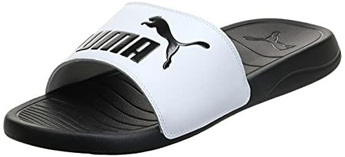 PUMA Popcat 20, Chaussures de Plage & Piscine Mixte, Noir Black White 09, 42 EU