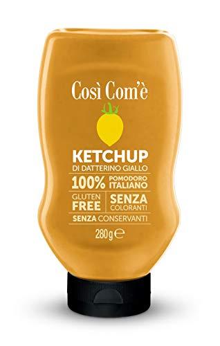 Ketchup italiano di datterino giallo Gr.280 - Conf. da 6