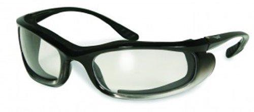 Global Vision Eyewear Shadow Sunglasses, Clear Lens by Global vision Eyewear