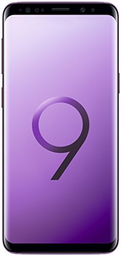 Samsung Galaxy S9 (Single SIM) 64 GB 5.8-Inch Android 8.0 Oreo UK Version SIM-Free Smartphone - Lilac Purple (Renewed)