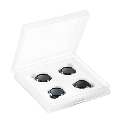 Walimex Pro Drohnenfilter Set DJI Mavic Pro (CPL, ND 4, ND 8, ND 16, inkl. Schutzhülle) schwarz
