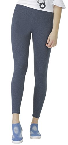 BeLady Damen Leggings Knöchellang aus Baumwolle Blickdichte Leggins Viele Farben (Jeans, 6XL - 52)