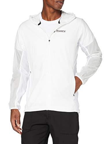adidas AGRAV HO ASHIEL Cortavientos, Hombre, Blanco, XL