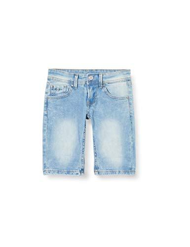 Pepe Jeans Jungen Becket Short Badeshorts, Blau (000denim 000), 2-3 Jahre (Herstellergröße: 2)