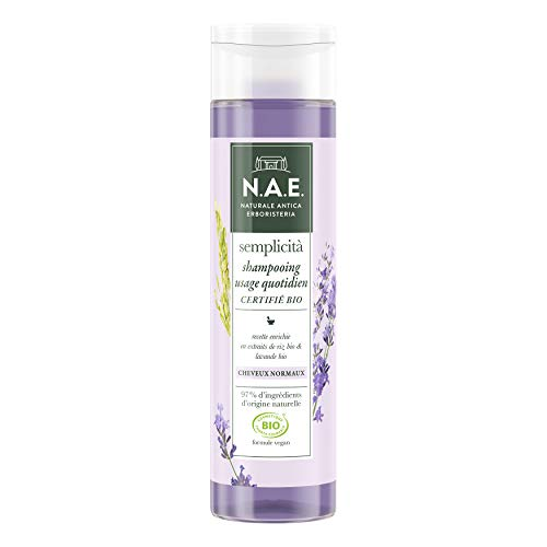 N.A.E. - Shampooing Cheveux Normaux - Certifié Bio - Formule Végane - 250 ml