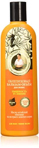 Grandma Agafia's Recipes Natural Sea Buckthorn Conditioner Maximum Volume 280ml by Grandma Agafia's Recipes 5 Juices