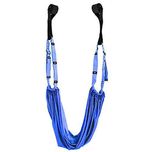 Gimnasio colgante inversión swing aérea yoga hamaca camilla banda cinturón salud cielo azul