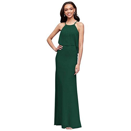 David's Bridal Green Dress