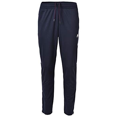 Kappa Ippolito, Pantaloni Uomo, Blue Navy, White, XXL