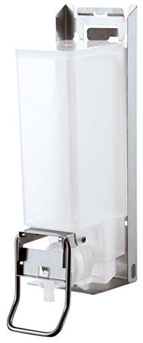 AIR-WOLF Seifen- und Desinfektionsmittelspender 1,2 Liter, Edelstahl, Serie Omega