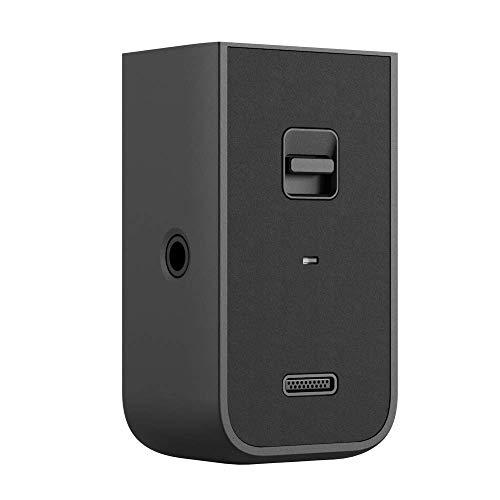 """DJI Pocket 2 Empuñadura Multiuso - Cómodo de sostener en la Mano, Cuenta con un módulo Incorporado de Wi-Fi y Bluetooth, un Receptor de micrófono inalámbrico y un Orificio roscado de 1/4"""", Negro"""