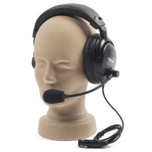 Anchor Audio, Single Muff Headset with Mic for PortaCom/ProLink, H-2000S