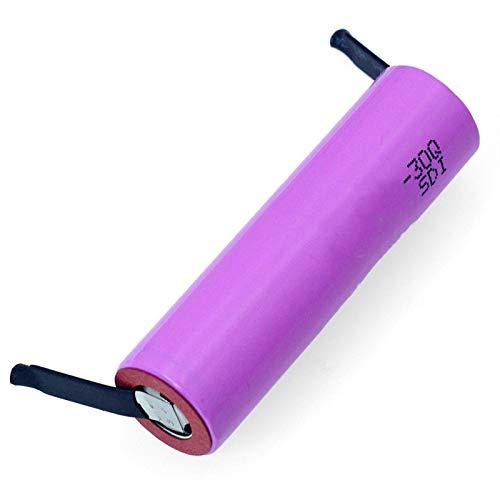 MeGgyc 3.7V li-lon Rechargeable battery 30Q 3000mAh li-lon laptop batteries 5PCSbattery