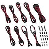 CableMod RT-Series Classic ModFlex Sleeved Cable Kit for ASUS and Seasonic (Black + Red)