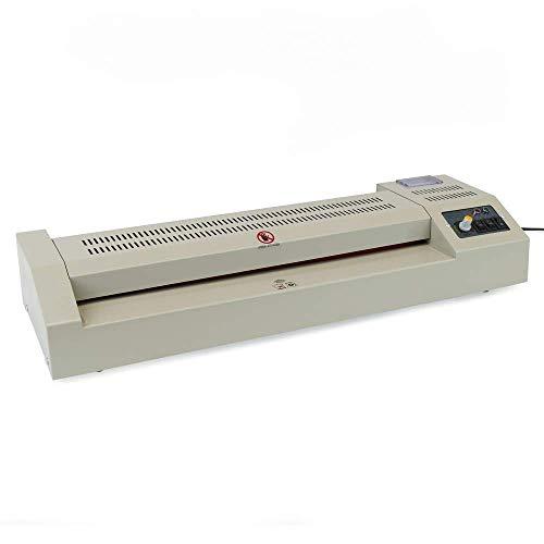 PrimeMatik - Plastificadora térmica A2 Laminadora de Documentos en Caliente y frío 800W