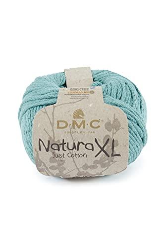 DMC - Fil Natura XL - Pelote de fil à tricoter et à crocheter | 100% coton - Idéal pour déco, accessoires et vêtements | 100 g - 75 m | 23 coloris