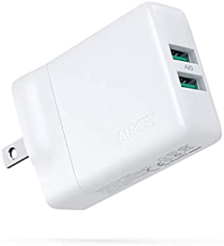 Aukey 24W Dual Port 2.4A Fast Charger