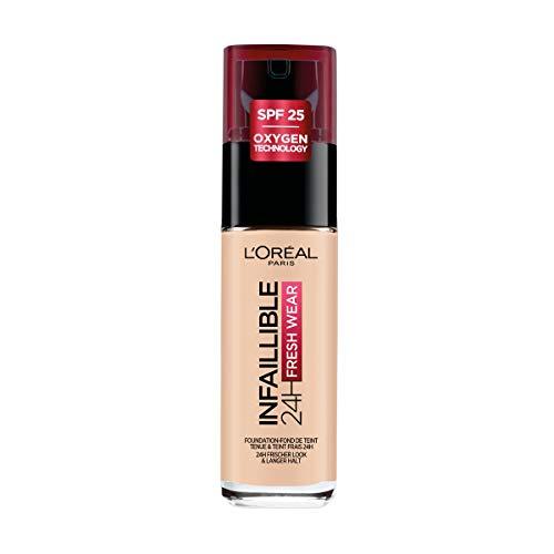 L'Oréal Paris Fondotinta Liquido Infaillible 24H Fresh...