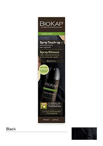 BIOKAP Delicato Spray Retouches Racines Noir 75 ml