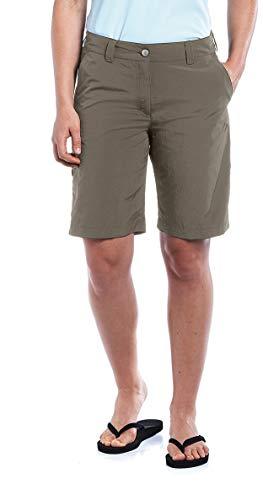 maier sports Bermuda Nidda - Pantalones Cortos para Mujer, Color Teak, Talla DE: 36