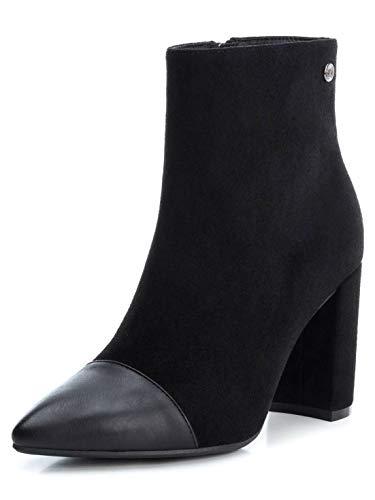 XTI Damen 35101 Kurzschaft Stiefel, Schwarz (Negro Negro), 41 EU