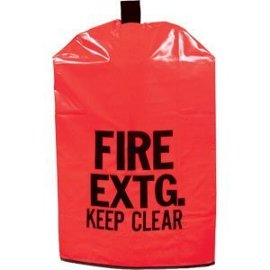 FIRE Extinguisher Cover (No Window) for 5 to 10lb. Extinguisher, Small 20