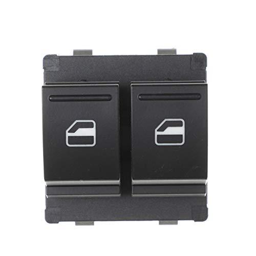 KUANGQIANWEI Botonera elevalunas 1SB959857 Ajuste Lateral de la Unidad para VW Up E-up Fit para Skoda Citigo Seat MII 2013 2013 Power Window Master Button